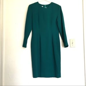 Talbots Lightweight Wool Crepe Dress Sz6  $10